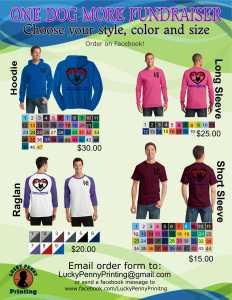 shirt fundraiser